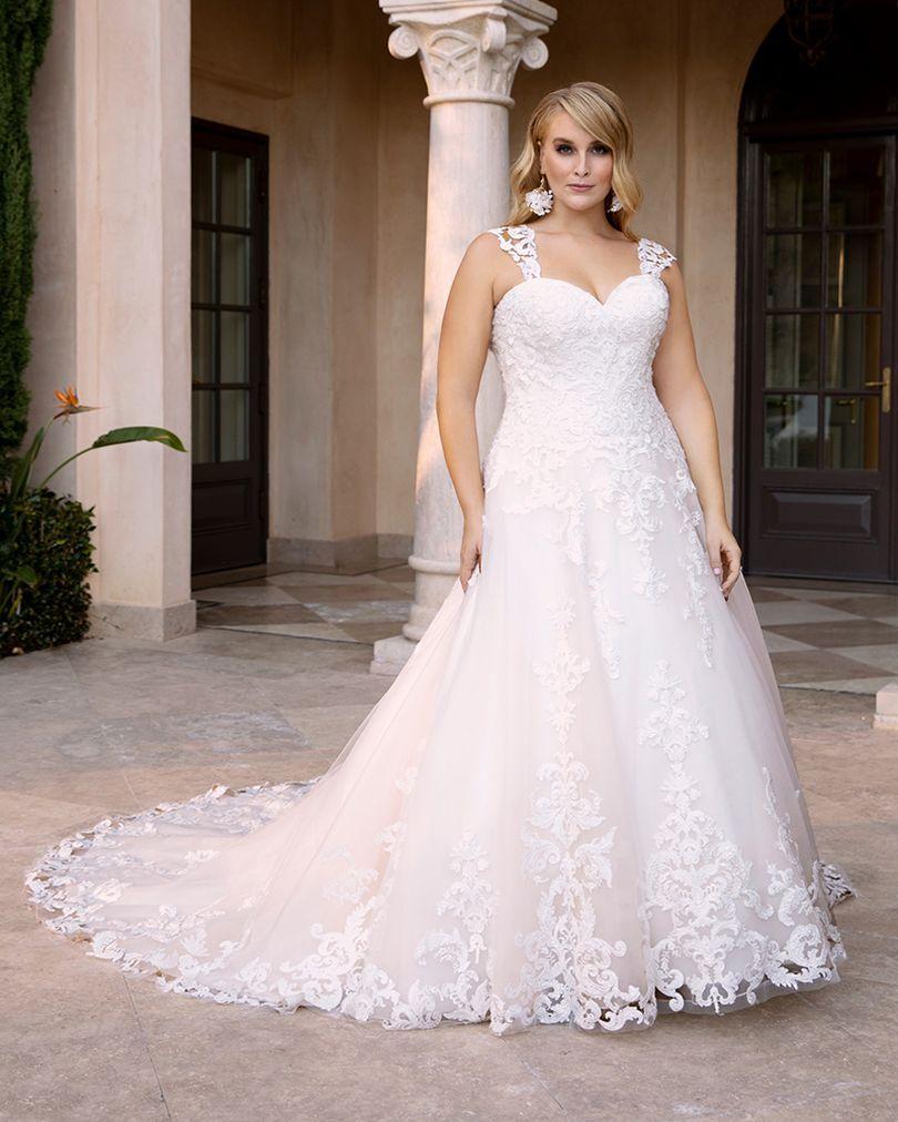 Wedding Dress CBC3832BG - Dominique Levesque Bridal