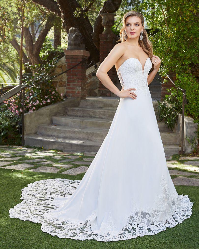 Wedding Dress CB7932BG - Dominique Levesque Bridal