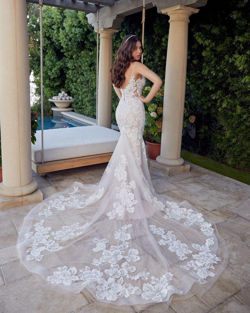 Wedding Dress CB7442BG - Dominique Levesque Bridal