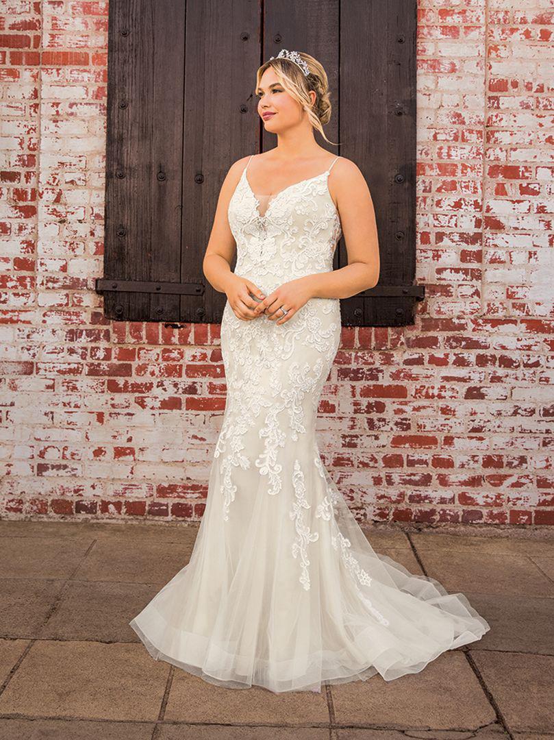 Wedding Dress CBC282LBBG - Dominique Levesque Bridal