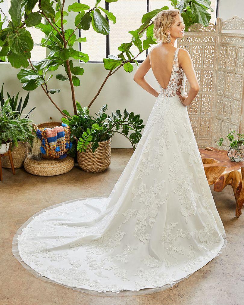 Wedding Dress CB233LBBG - Dominique Levesque Bridal