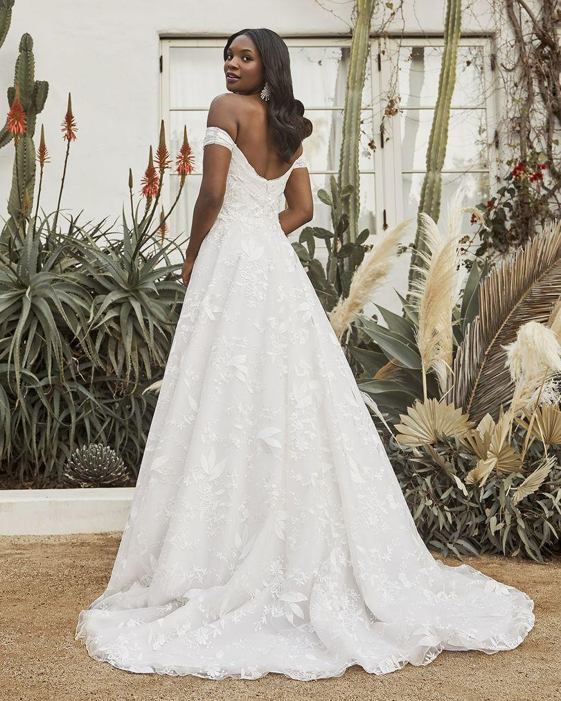 Wedding Dress CB053LBBG - Dominique Levesque Bridal
