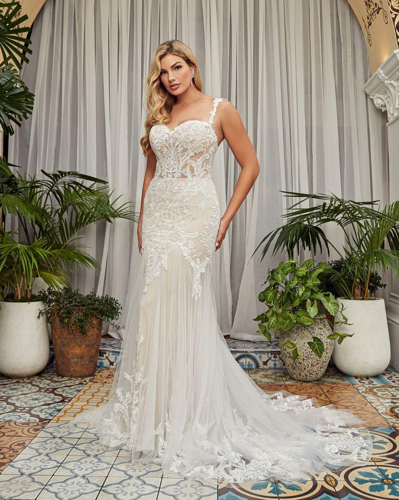 Wedding Dress CB353LBBG - Dominique Levesque Bridal