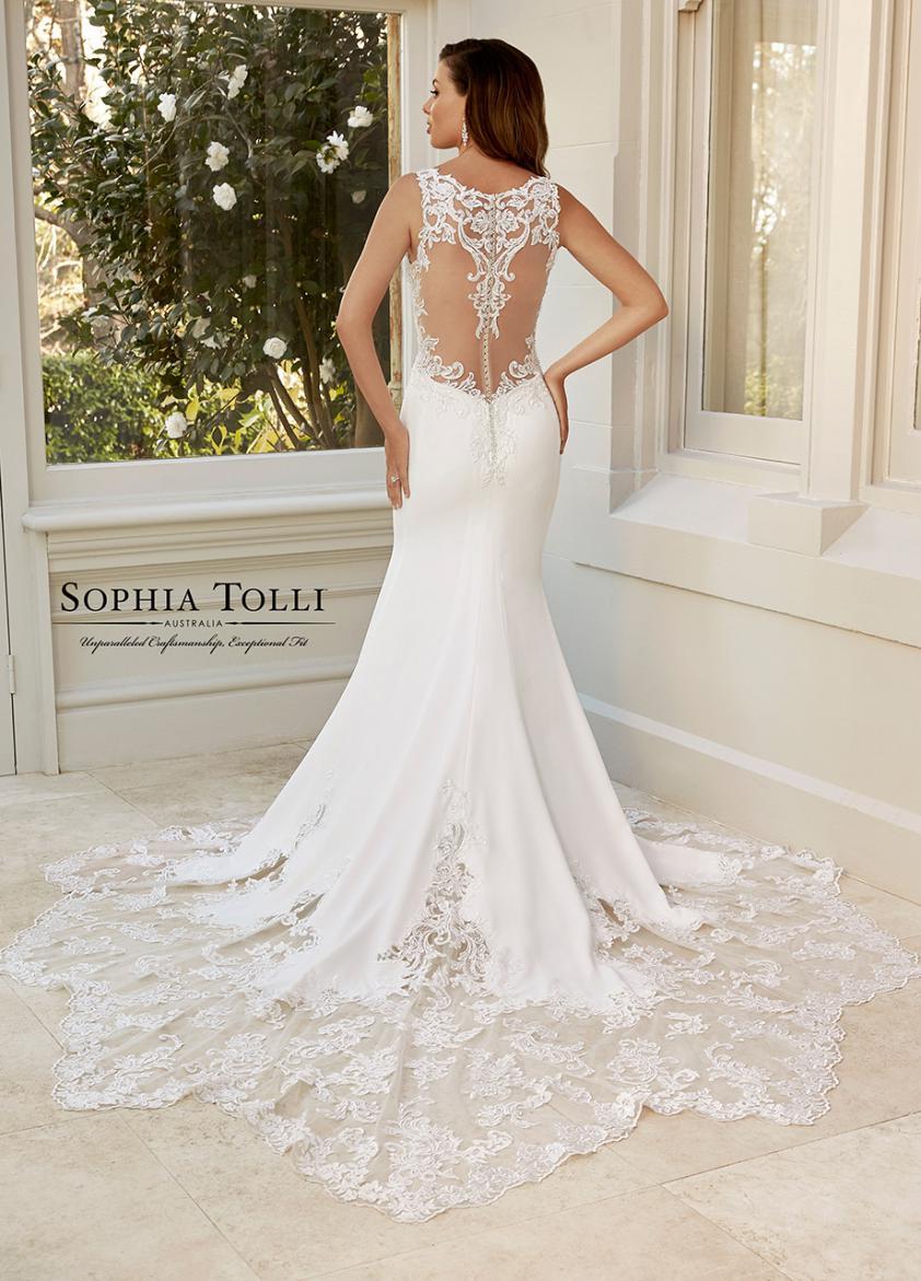 Wedding Dress STB95911YBG - Dominique Levesque Bridal