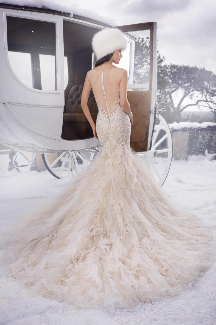 Wedding Dress 8697 - Dominique Levesque Bridal