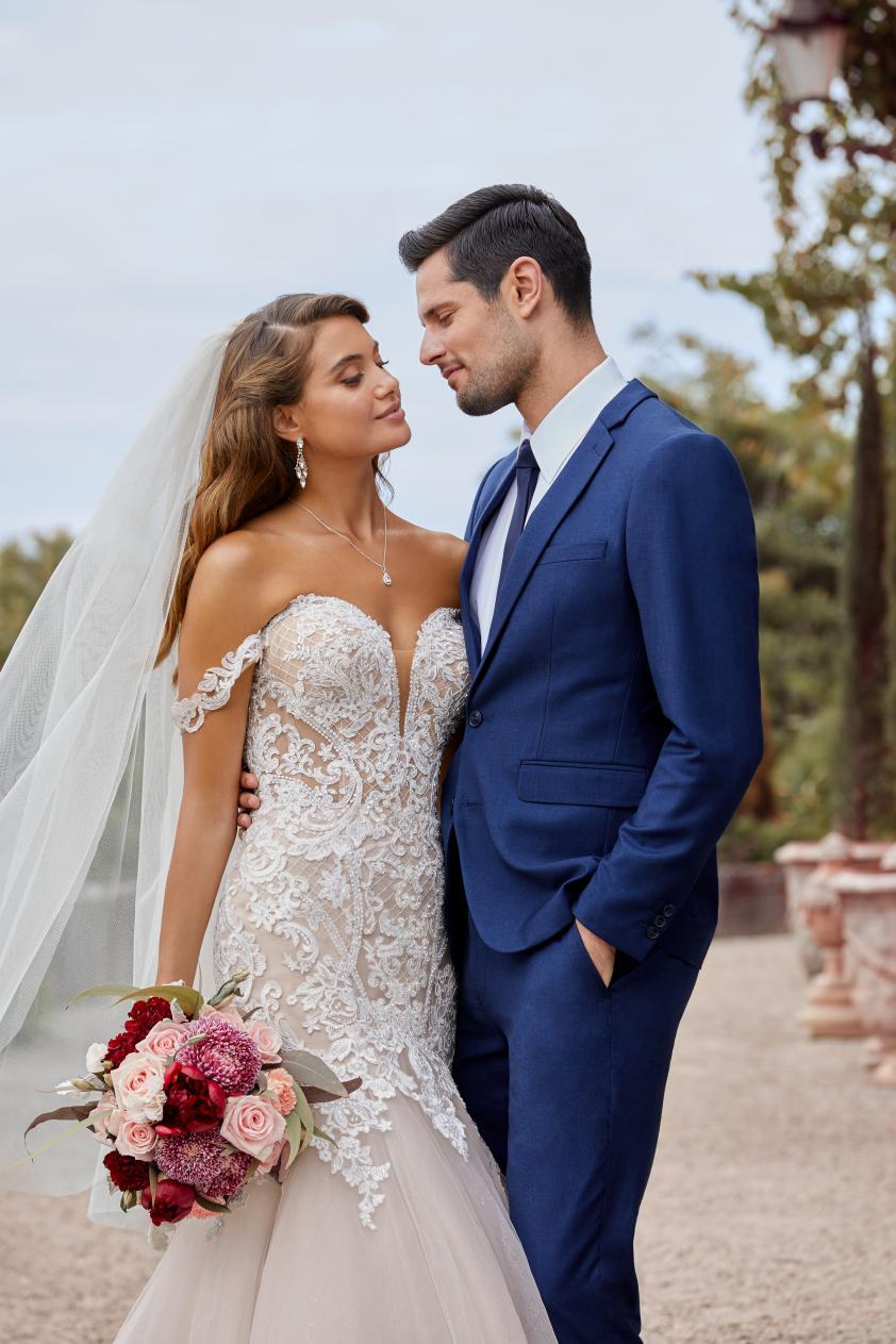 Wedding Dress ST56022YBG - Dominique Levesque Bridal