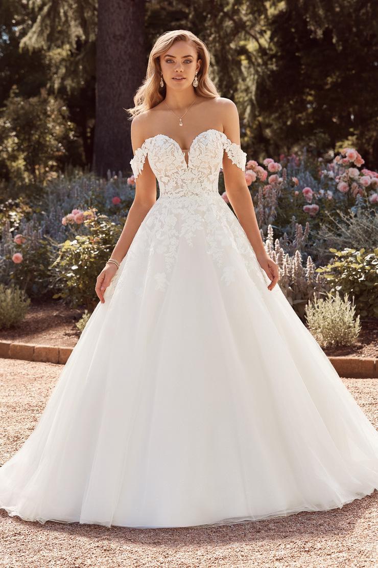 Wedding Dress ST77122YBG - Dominique Levesque Bridal