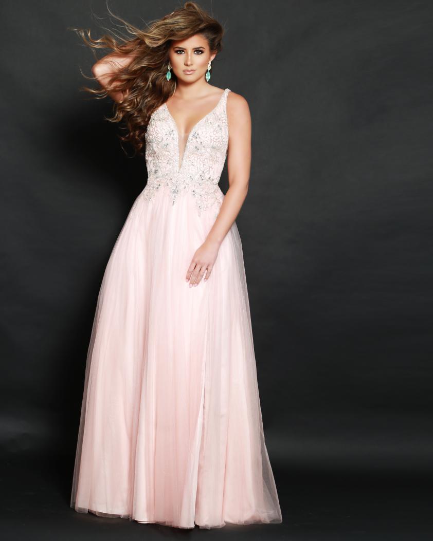 Wedding Dress 2T90519PROM - Dominique Levesque Bridal
