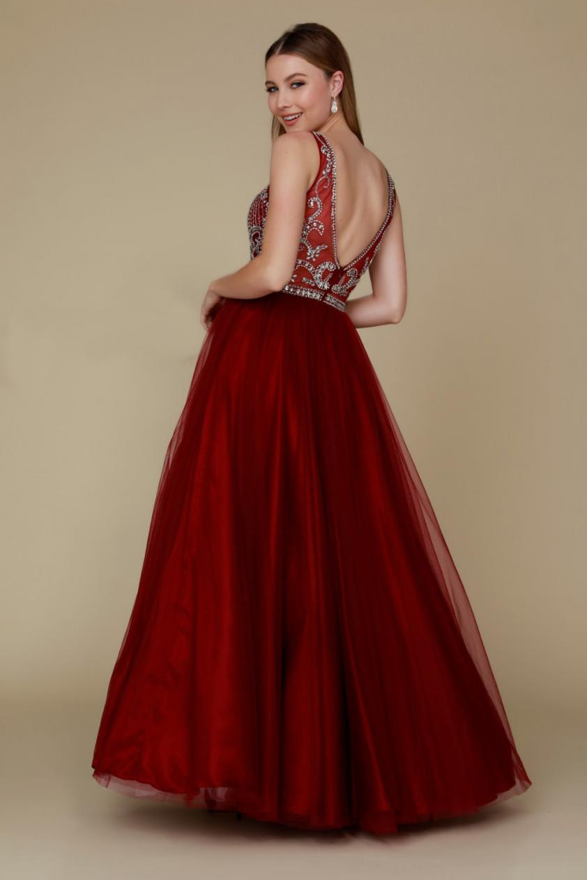 Wedding Dress NA780GPROM - Dominique Levesque Bridal