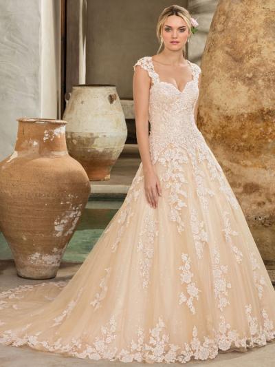 Wedding Dress CBC9822BG - Dominique Levesque Bridal