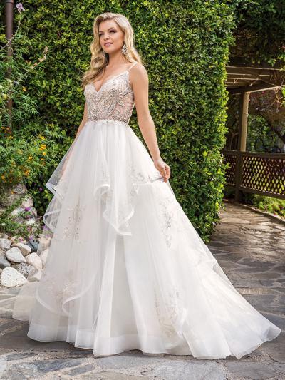 Wedding Dress cb5532bg - Dominique Levesque Bridal