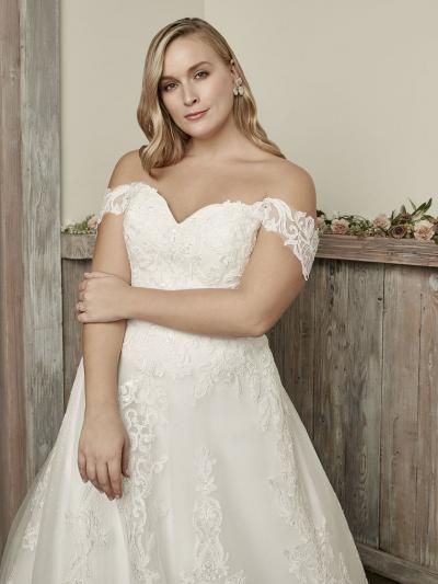 Wedding Dress CBC8142BG - Dominique Levesque Bridal