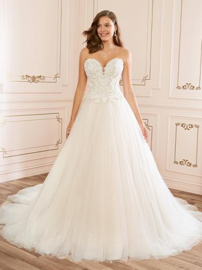 Wedding Dress ST44022YBG - Dominique Levesque Bridal