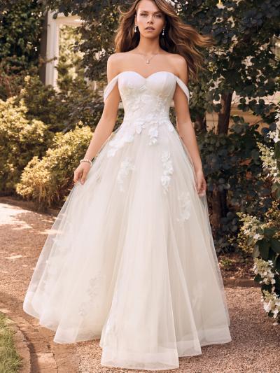 Wedding Dress ST85022YBG - Dominique Levesque Bridal