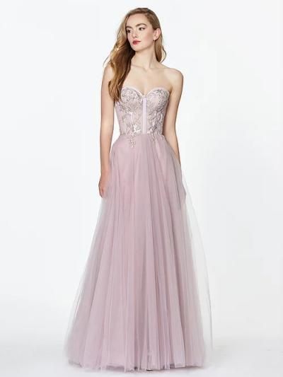 Wedding Dress A&A70002PROM - Dominique Levesque Bridal